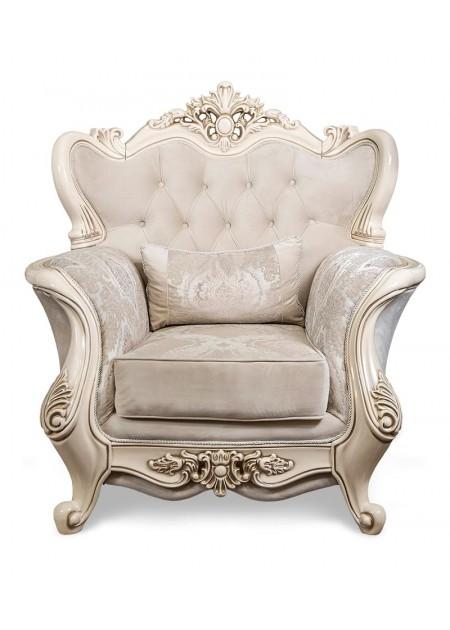"""Кресло """"Джоконда"""", декор крем глянец"""