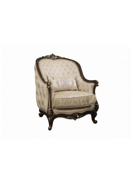 """Кресло """"Мона Лиза"""", декор караваджо"""
