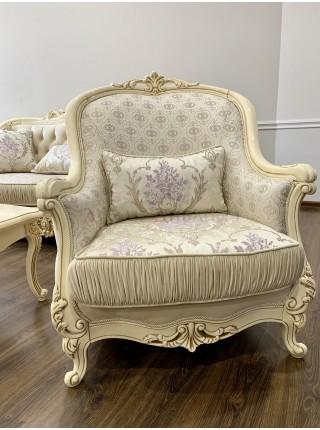 "Кресло ""Мона Лиза"", декор крем"