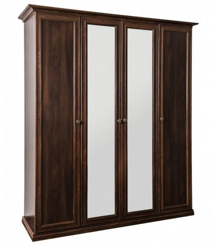 """Шкаф 4-х ств. """"Афина"""" с зеркалом"""