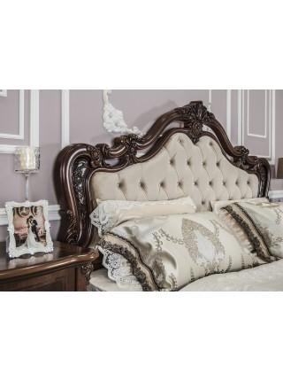 """Кровать """"Илона"""" с мягким изголовьем"""