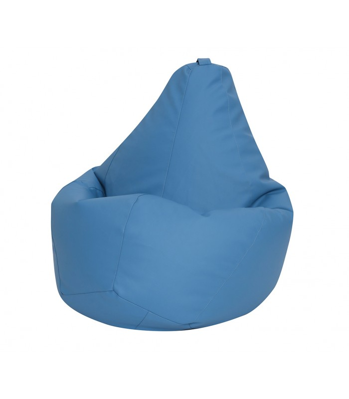 """Кресло Мешок """"Голубая Эко Кожа"""""""