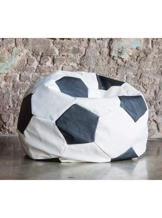 """Кресло Мяч """"Бело-Черны Кожа"""""""