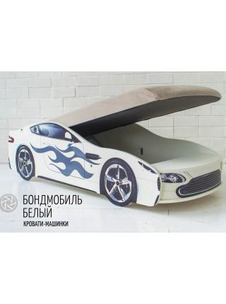 """Кровать машина """"БОНДМОБИЛЬ БЕЛЫЙ"""""""