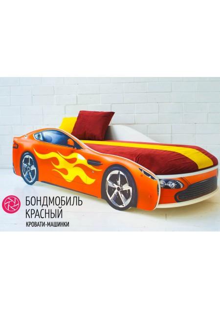 """Кровать машина """"БОНДМОБИЛЬ КРАСНЫЙ"""""""