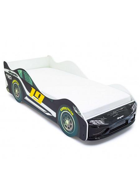 Кровать-машина «Супра Черная»