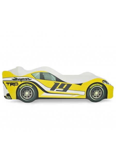 Кровать-машина «Супра Желтая»