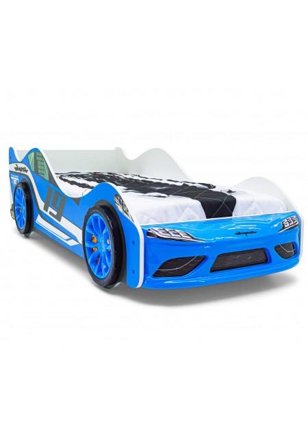 Кровать-машина «Супра Синяя»