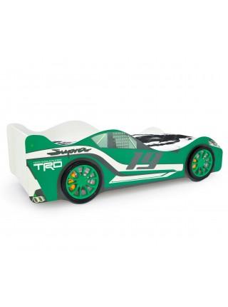 Кровать-машина «Супра Зеленая»
