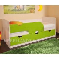 Детская кровать «Минима» Лайм