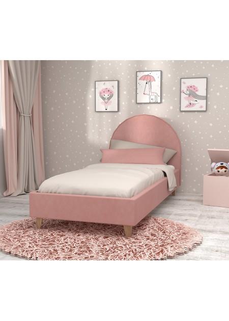 """Кровать 0,8 арт.014 Розовый """"Эго"""""""