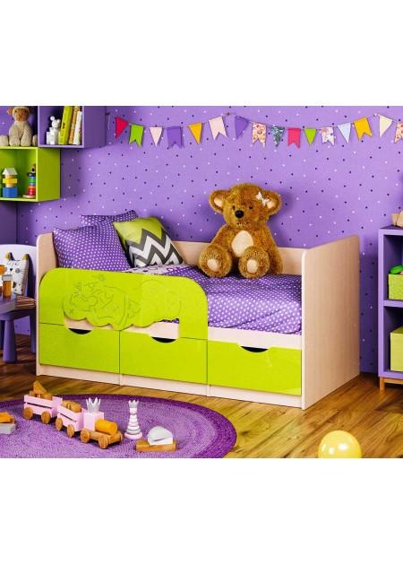 """Детская кровать """"3D Эксклюзив Мишки на облаке"""""""