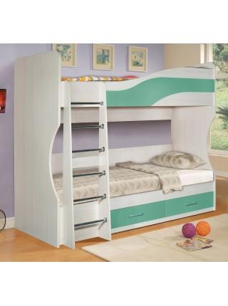 Кровать 2-х этажная Симба