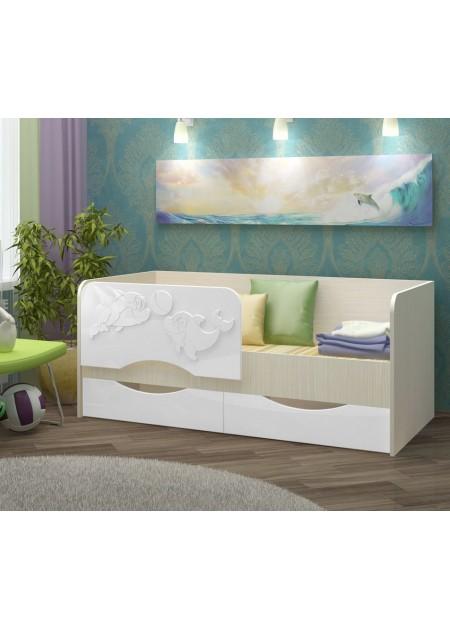 """Кровать """"Дельфин 2"""""""