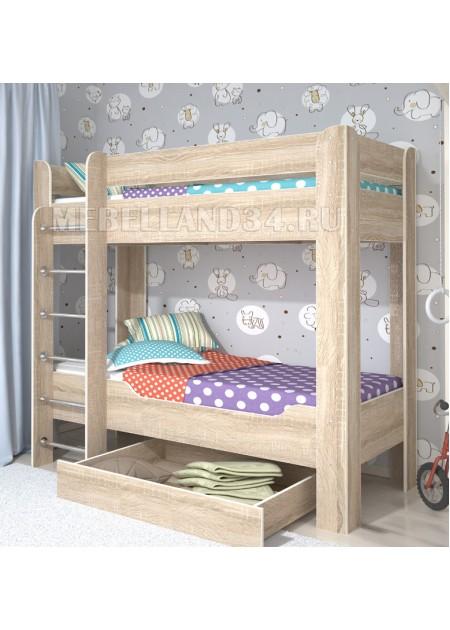 Двухъярусная кровать Мийа 4