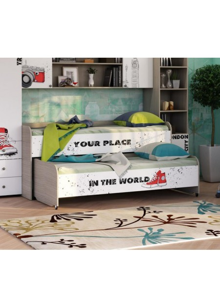 Двухуровневая кровать Мийа 3