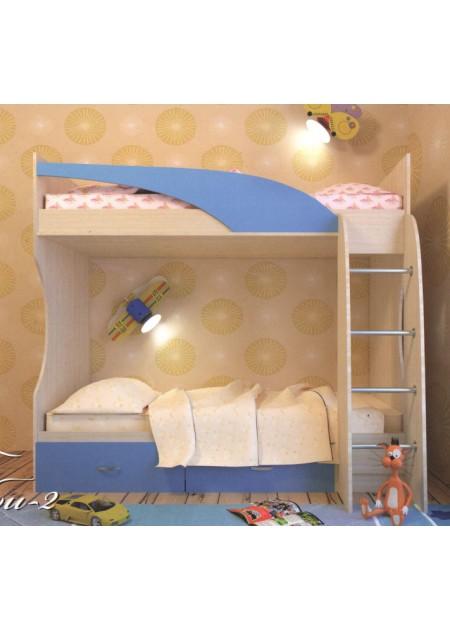 """Кровать 2-ярус, """"Беби-2"""""""
