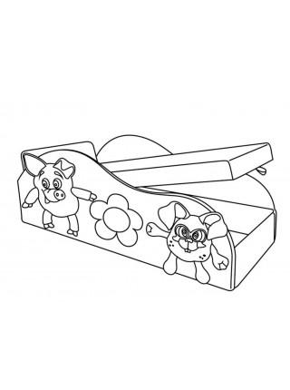 """Диван-кровать """"Друзья"""" 3кат."""