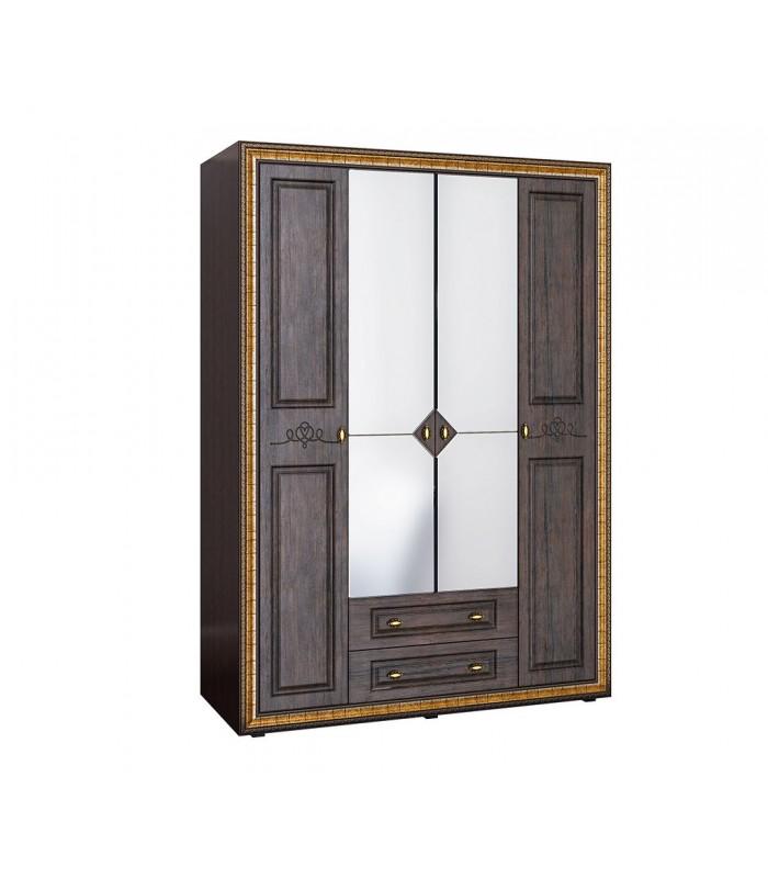 "Шкаф 4-х створчатый с зеркалом ""Версаль ВР-109"""
