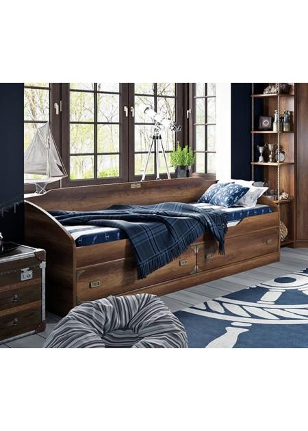 Кровать с 2-мя ящиками «Навигатор»