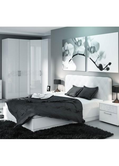 Двуспальная кровать «Амели» мягкая