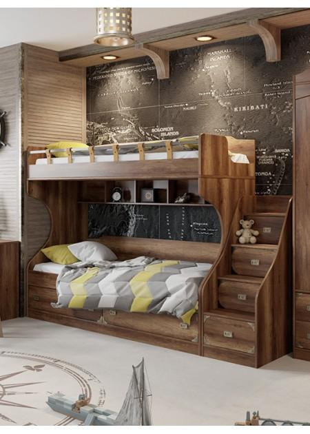 Кровать двухъярусная «Навигатор»