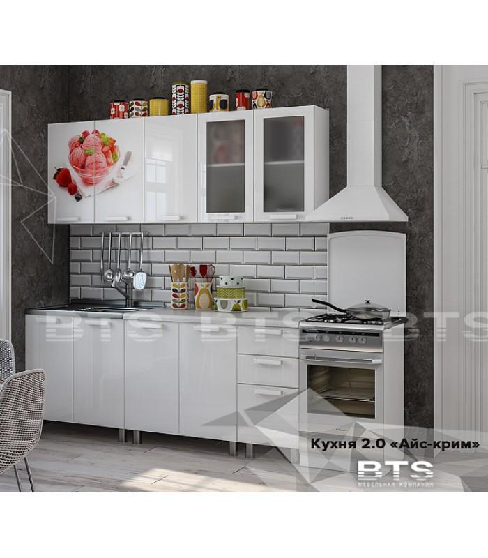 Кухонный гарнитур «Айс крим 2м»