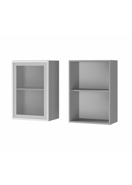 """Шкаф настенный 1-дверный со стеклом """"5В2"""""""