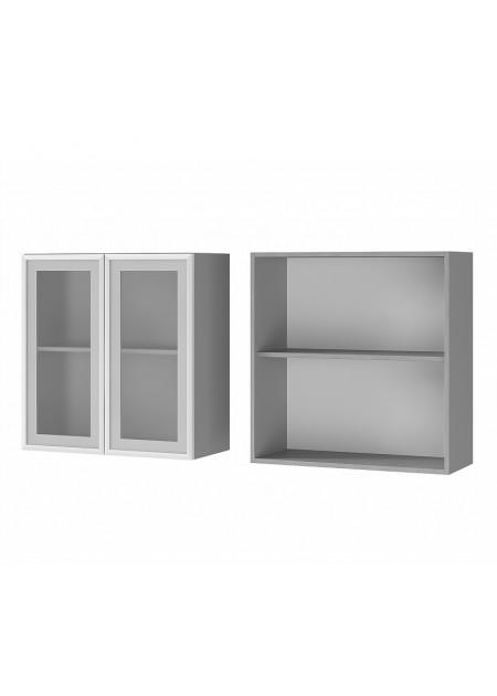 """Шкаф настенный 2-дверный со стеклом """"7В2"""""""