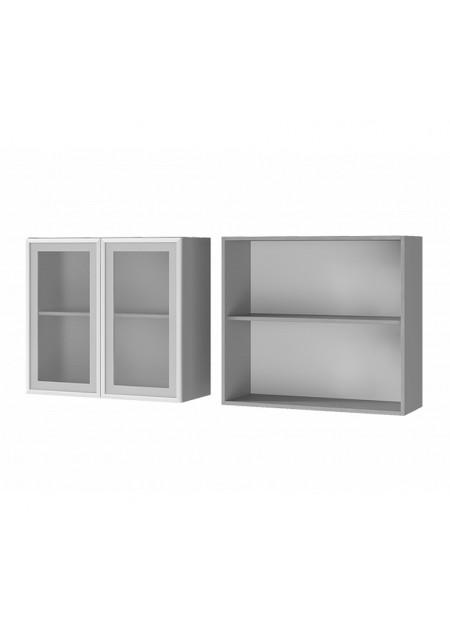 """Шкаф настенный 2-дверный со стеклом """"8В2"""""""