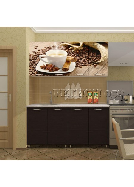 Кухонный гарнитур «Кофе МДФ»
