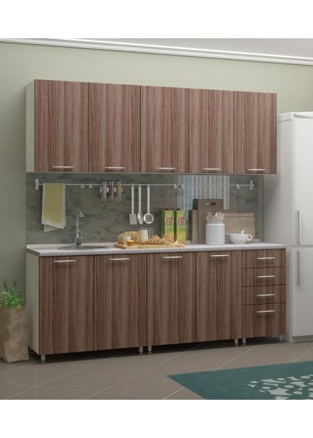 Кухонный гарнитур «ЛДСП 2,0 ясень»