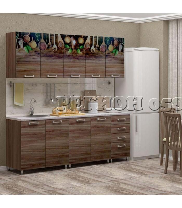 Кухонный гарнитур «ЛДСП 2,0 фотопечать»