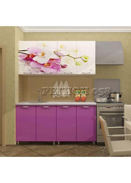 Кухонный гарнитур «Орхидея МДФ»