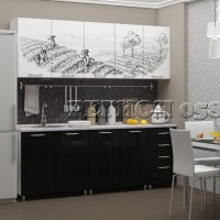 Кухонный гарнитур «Плантация МДФ»