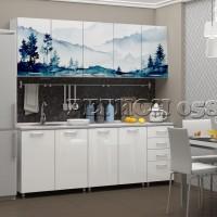 Кухонный гарнитур «Холмы МДФ»