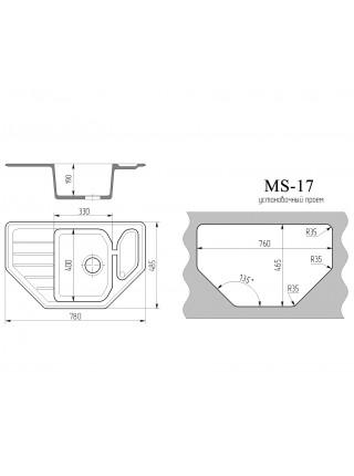 """Мойка """"Ms 17"""""""