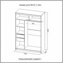 Шкаф купе N 11