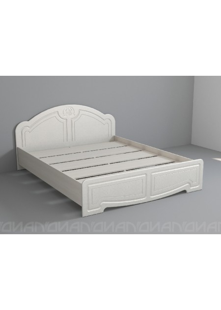 """Кровать """"Классика низкий щиток настил ЛДСП"""""""