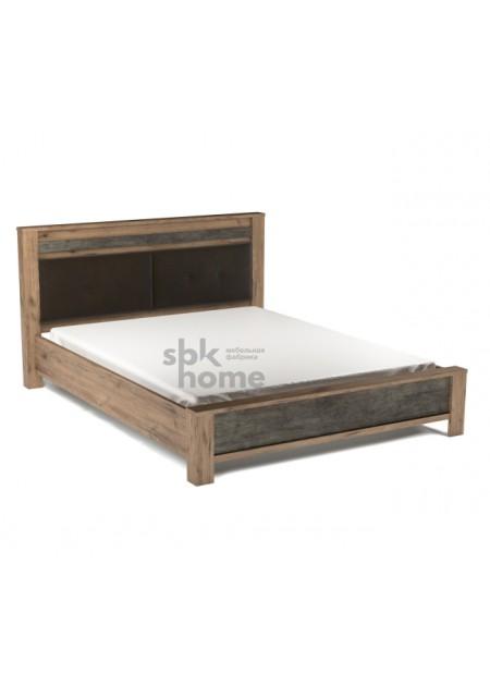 """Кровать """"Денвер Люкс с мягким щитком"""""""