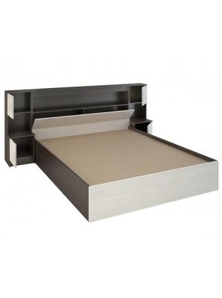 """Кровать с прикроватным блоком """"Бася КР 552"""""""