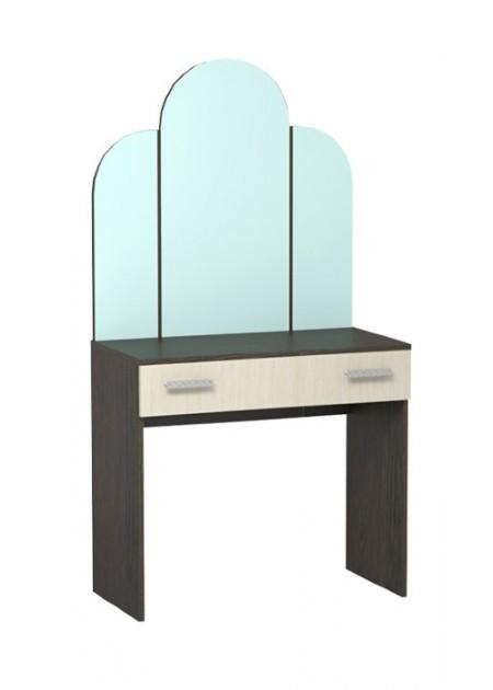 Трельяж №1 (с фигурным зеркалом) Бася
