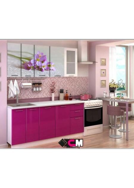 Кухонный гарнитур «Цветы»