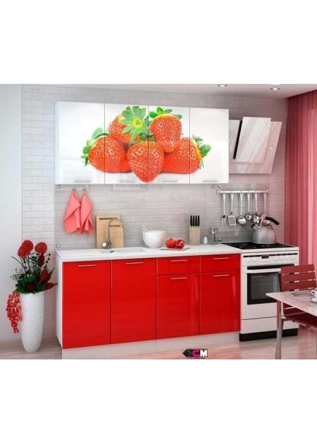Кухонный гарнитур «Клубника»