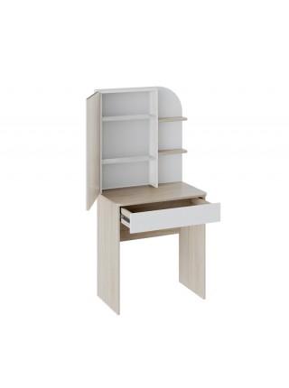 Майя Туалетный стол Дуб сонома/Белый ясень